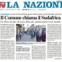 La Nazione - 8 Gennaio 2013