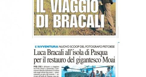 La Nazione 17 Luglio 2012 - Luca Bracali