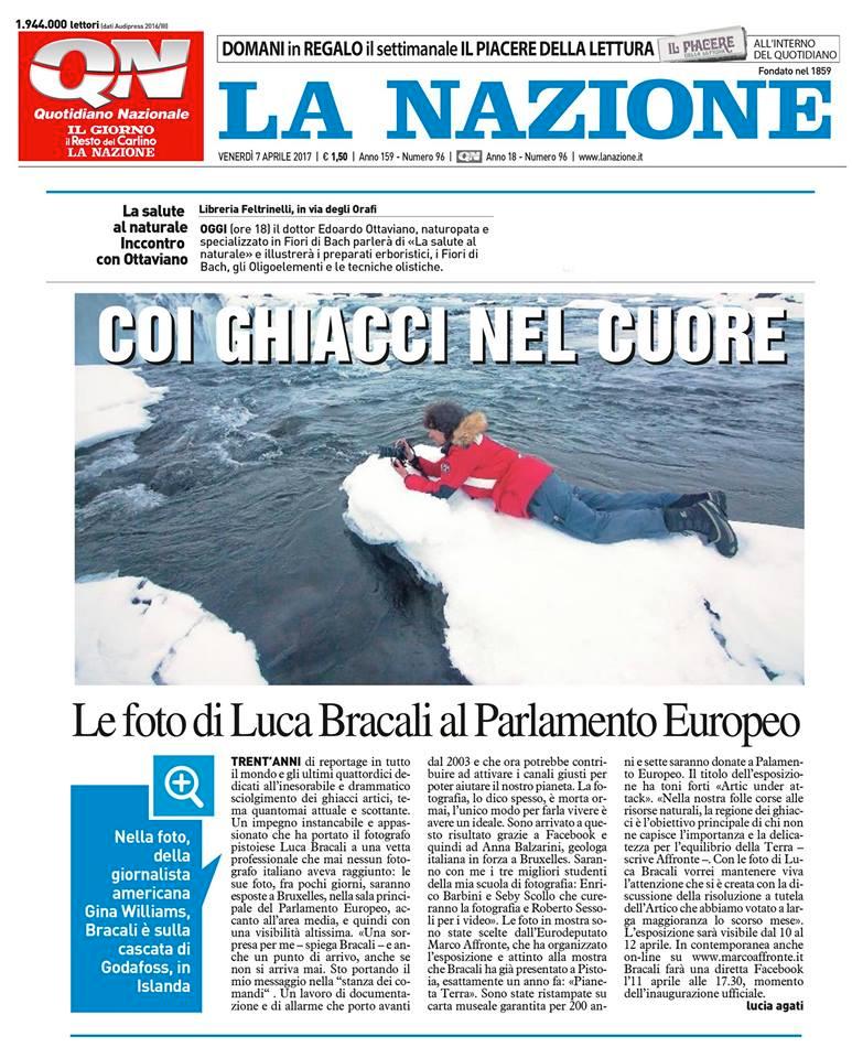 La Nazione - Luca Bracali