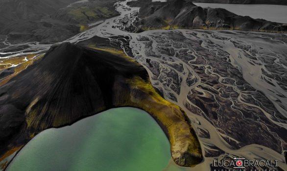 Foto aerea in Islanda - Luca Bracali