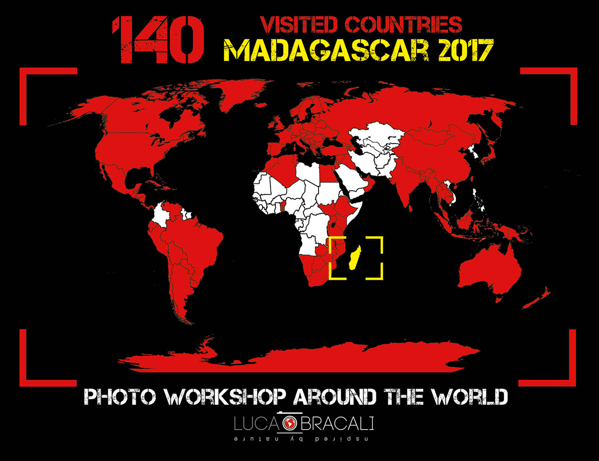 Luca Bracali 140 paesi visitati