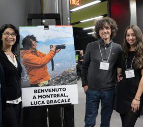 Luca Bracali alla Concordia University di Montreal
