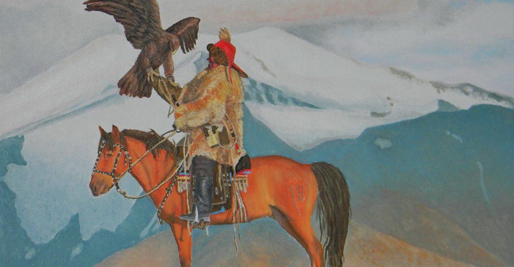 Renato Restelli, dipinto da una fotografia di Luca Bracali