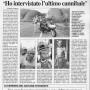 La Nazione - 12 Agosto 2001