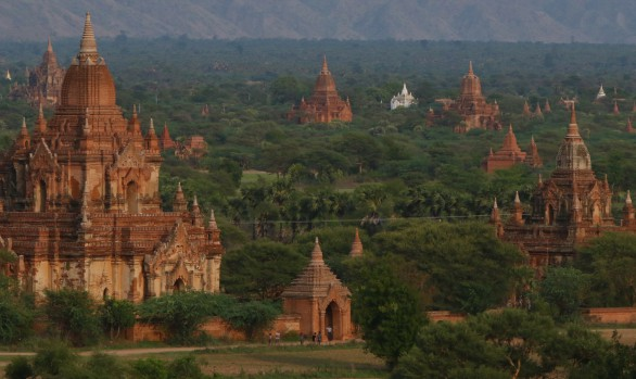Pagode in Myanmar