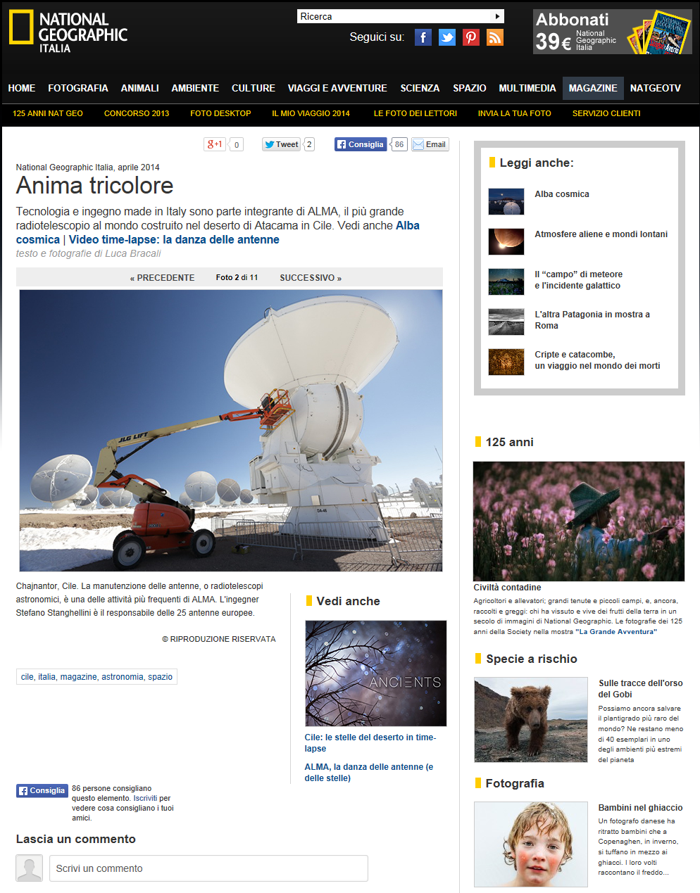 _Foto Anima tricolore – 2 di 11 – National Geographic