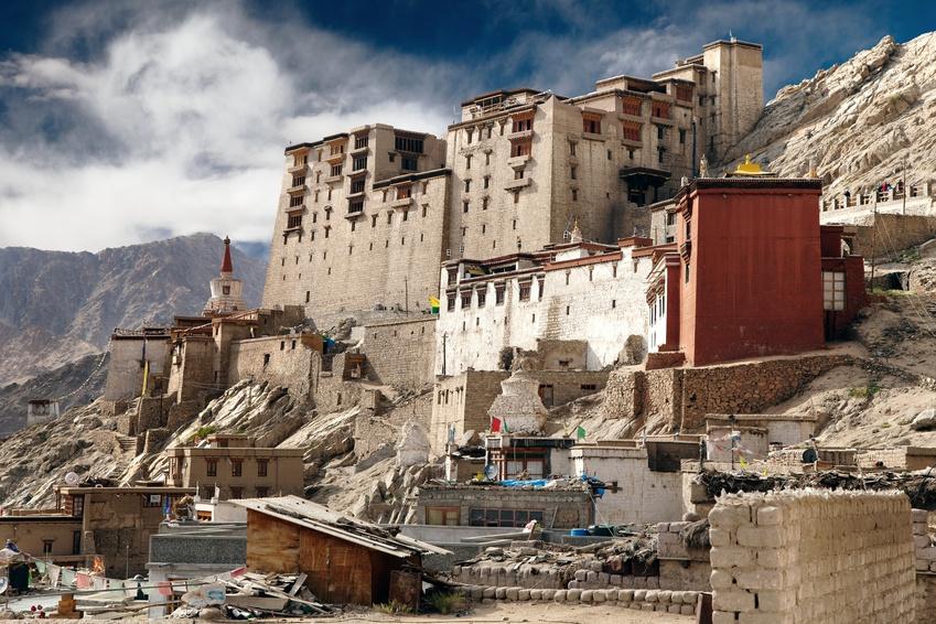 Leh Palace – Ladak monastero