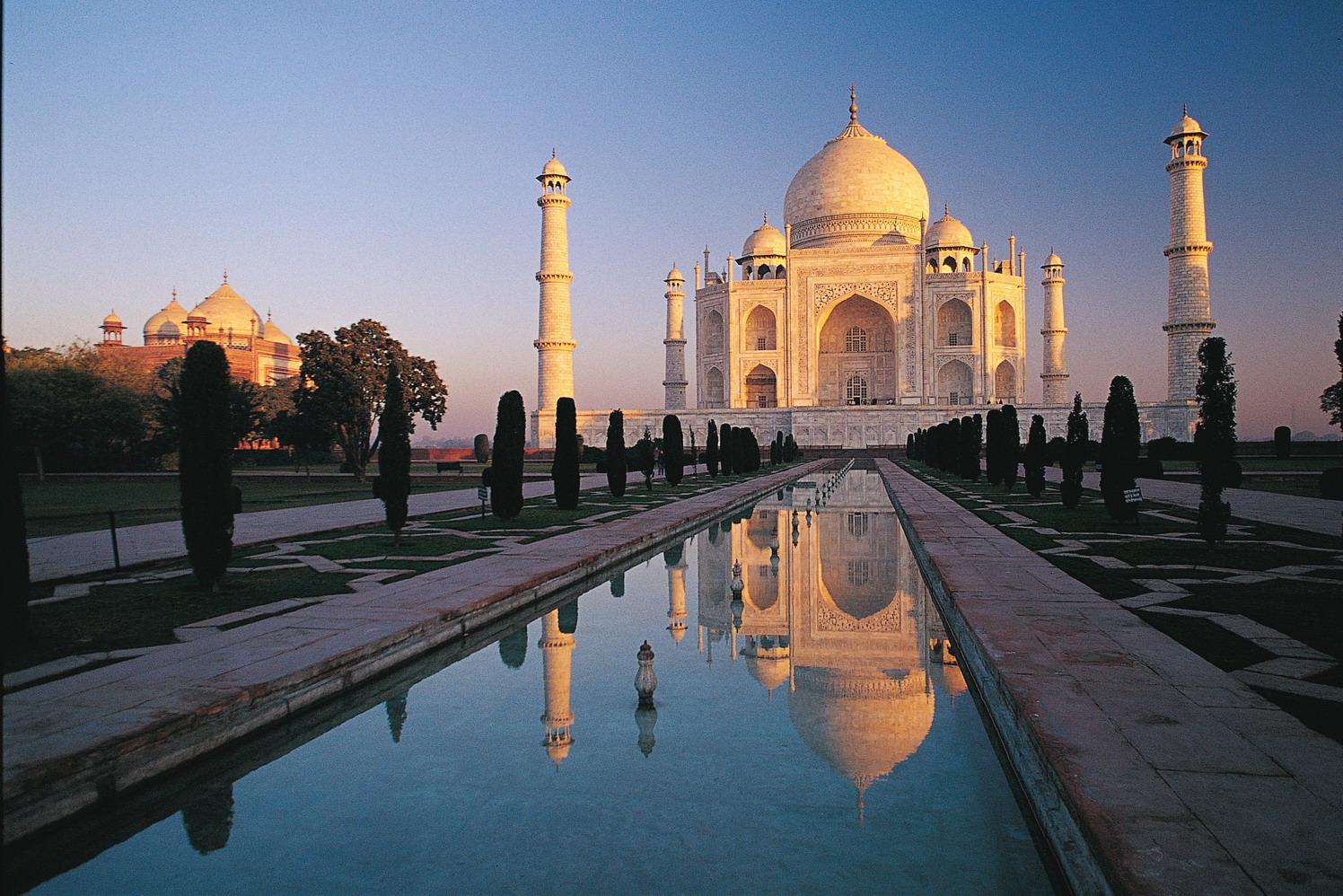 Luca Bracali India Taj Mahal