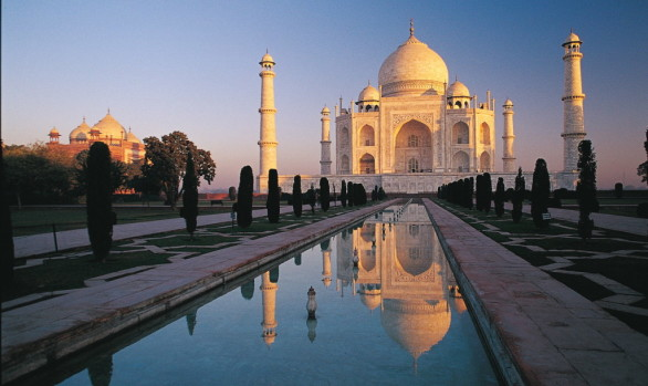 Workshop fotografico con Luca Bracali al Taj Mahal in India