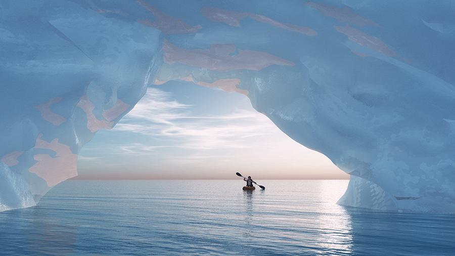 Workshop fotografico Groenlandia con Luca Bracali : balena nel mare del nord