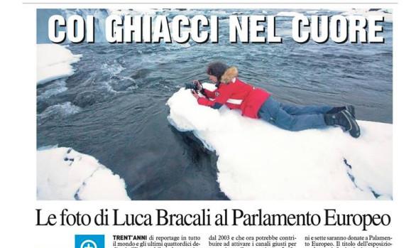 La Nazione - Le foto di Luca Bracali al parlamento europeo