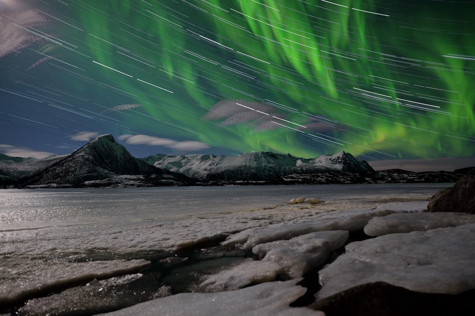 Aurora boreale in Norvegia - foto di Luca Bracali