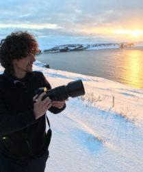 Luca Bracali in Islanda Marzo 2018
