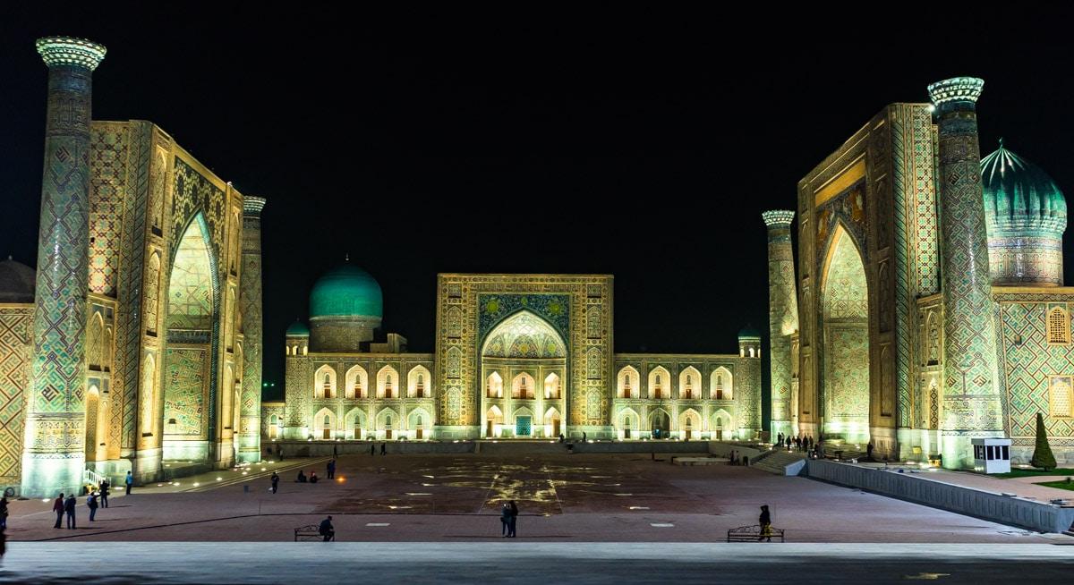 Samarkand-At-Night