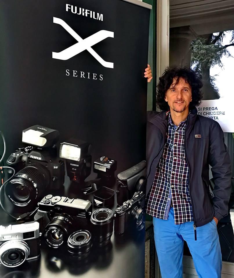 Luca Bracali al Lugano PhotoDays 2018 come Fujifilm X-Photographer