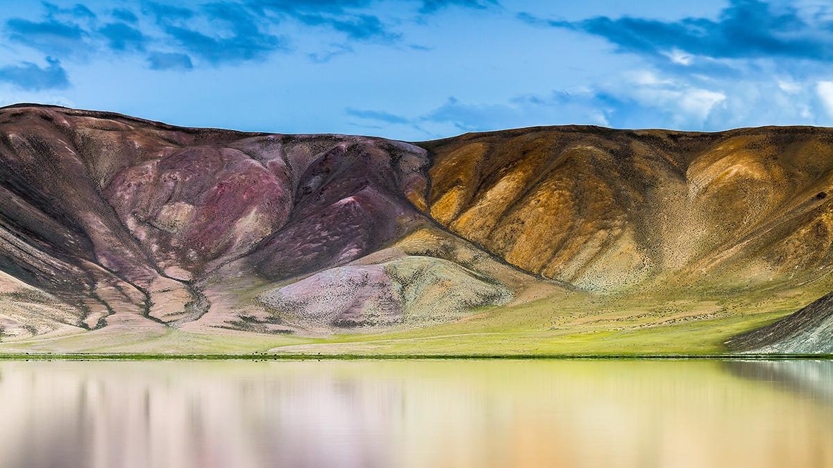Tajikistan-Pamir-lake