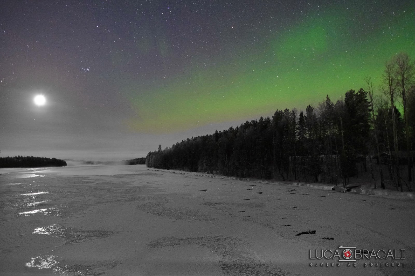 Lapponia_Finlandese_northern_light