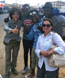 Viaggio fotografico in Kenya con Luca Bracali e Laura Scatena, foto di backstage