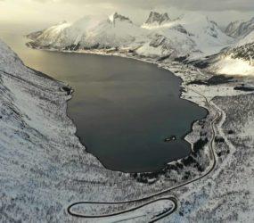 In Finlandia e Norvegia con Luca Bracali, foto con drone