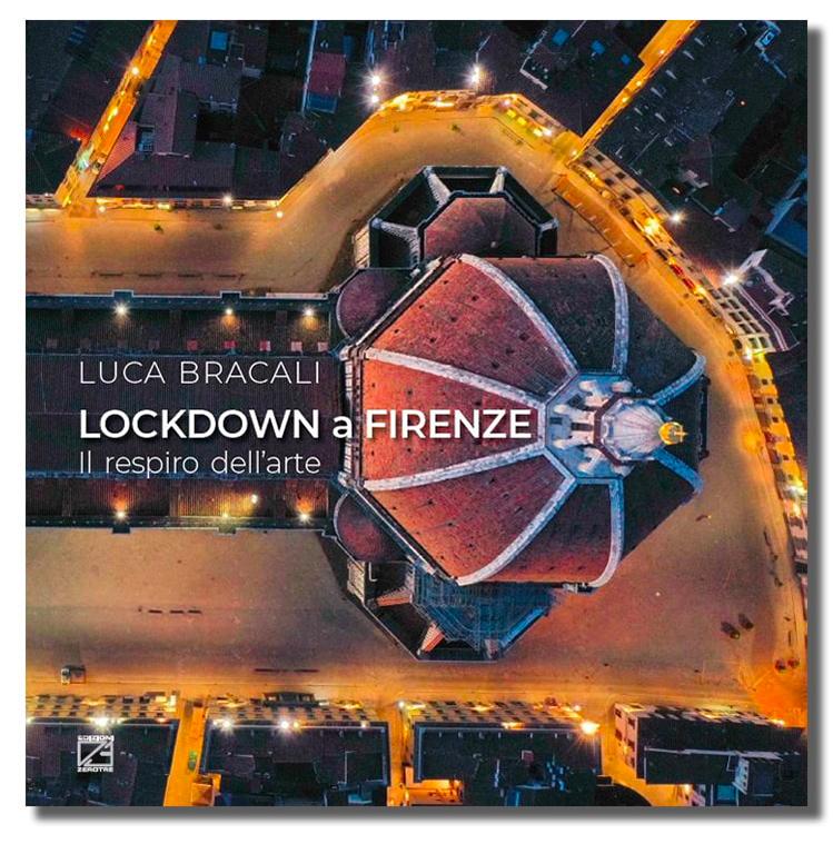 """Cover libro """"Lockdown a Firenze"""" di Luca Bracali"""